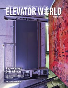 Elevator World Magazine August 2019