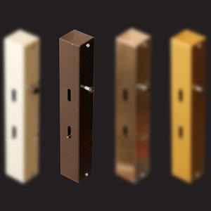 bronze elevator lock