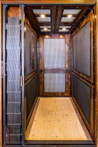 elevator cab floor