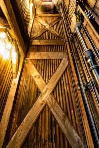 custom elevator hoistway