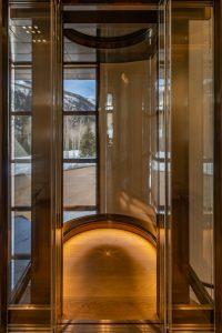 Custom Residential Glass Elevator