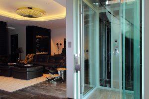 glass cab elevator