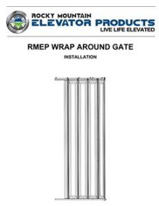 Wrap Around Gate Install Manual