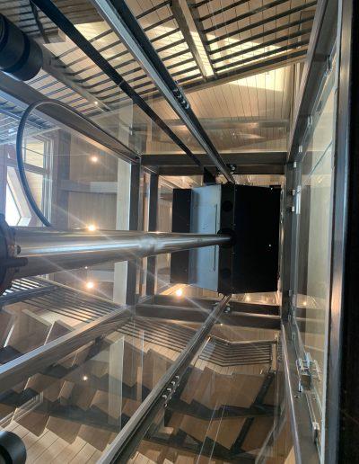 Curved Glass Elevator Doors
