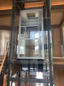 Custom Glass Home Elevator