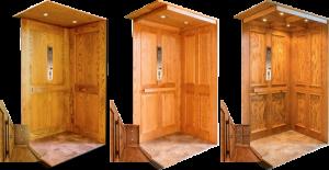 hardwood elevator panels