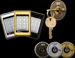 elevator keys and keypads