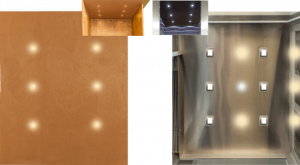 light options for elevators