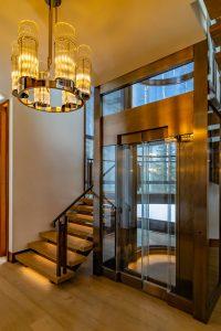 Luxury Home Glass Elevator