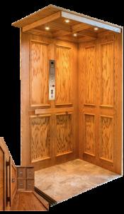 raised elevator panel