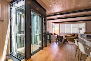 glass cab residential elevator