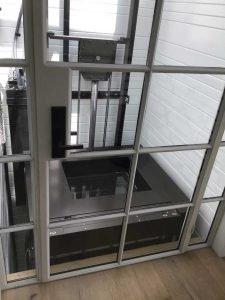 elevator with canopy cover