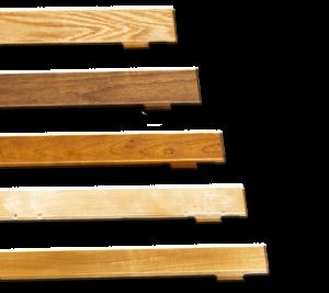 elevator wood rails